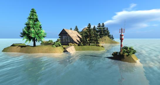 Henry Island and Henry Island Lighthouse